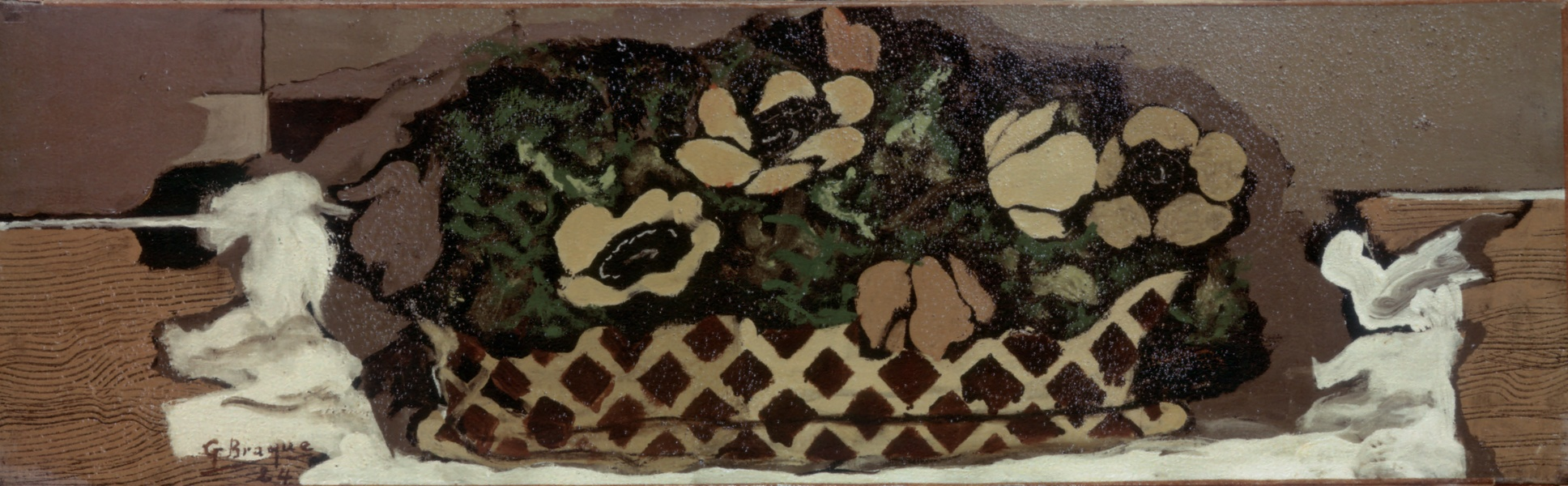 Basket with anemones, 1924