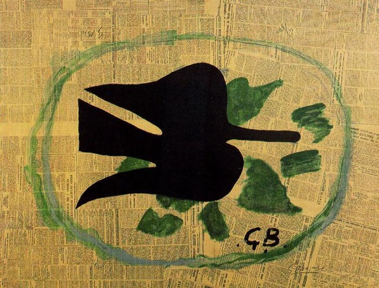 Bird in the Foliage, 1961 - Georges Braque