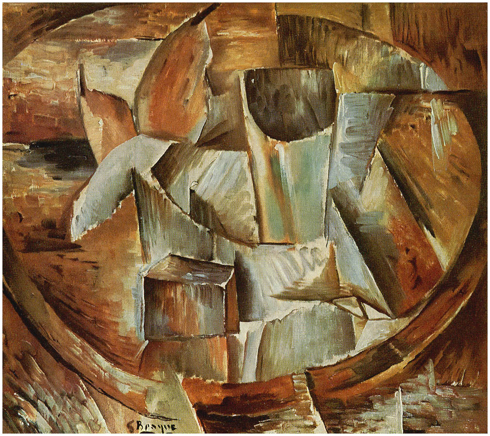 Glass on a table georges braque for Braque peintre
