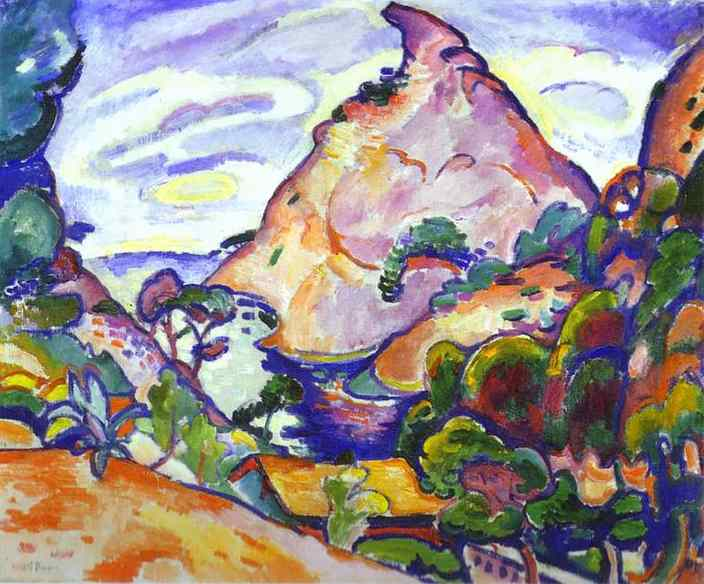 gray weather in cove 1907 georges braque wikiart org