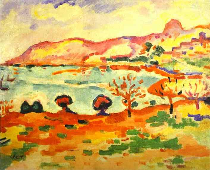 Landscape of Estaque, 1907 - Georges Braque