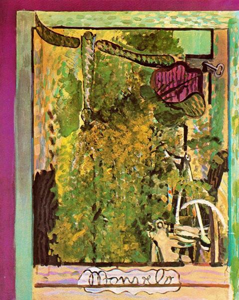 My bicycle, 1941 - Georges Braque