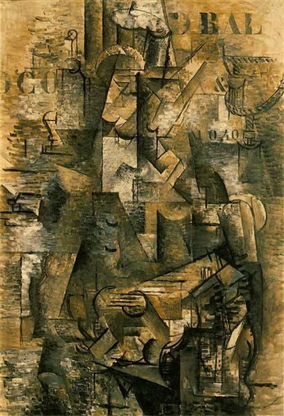 The Portuguese (The Emigrant), 1911 - Georges Braque