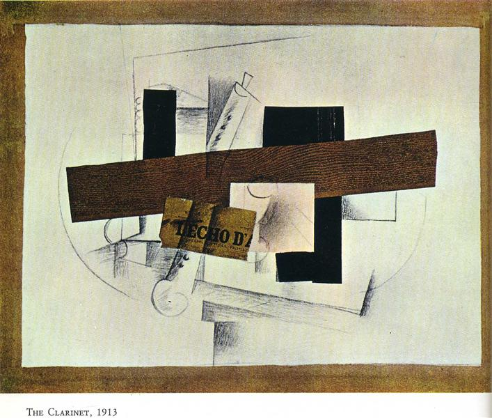 The Clarinet (Tenora), 1913 - Georges Braque