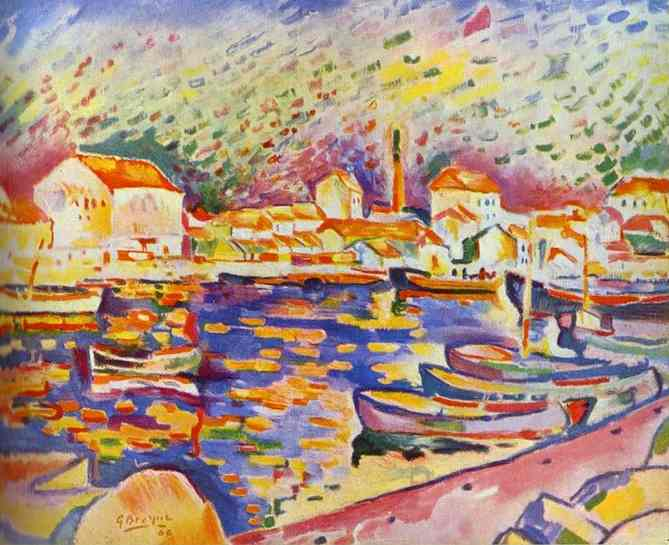 The Estaque, 1906 - Georges Braque