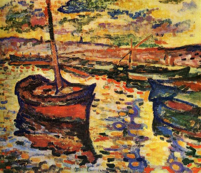 The Harbor, 1906 - Georges Braque