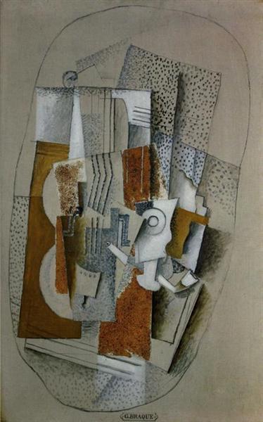 The Violin, 1914 - Georges Braque
