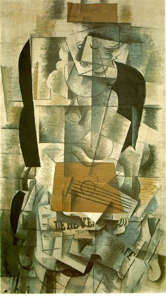 Woman with a Guitar, 1913 - Georges Braque