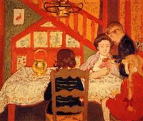 Family Gathering in Saint Idesbald - Жорж Леммен