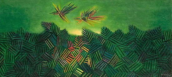 Two Birds, 1955 - Georges Papazoff