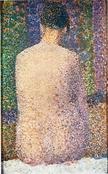 Georges Seurat, Model from the Back, 1886