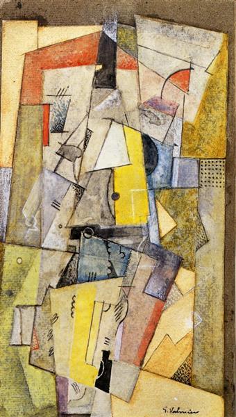 Cubist Composition, 1919 - Georges Valmier
