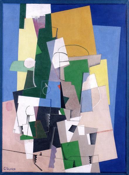 Cubist Composition, 1920 - Georges Valmier