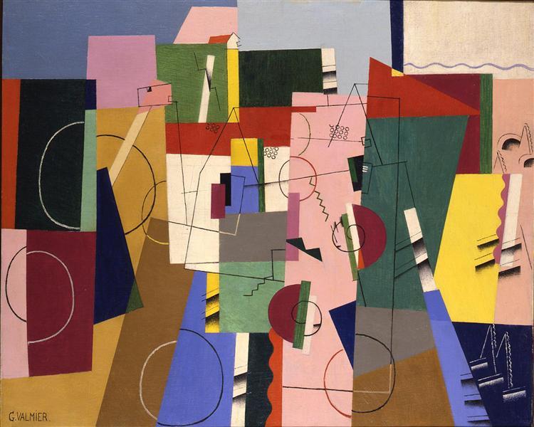 Landscape, 1920 - Georges Valmier