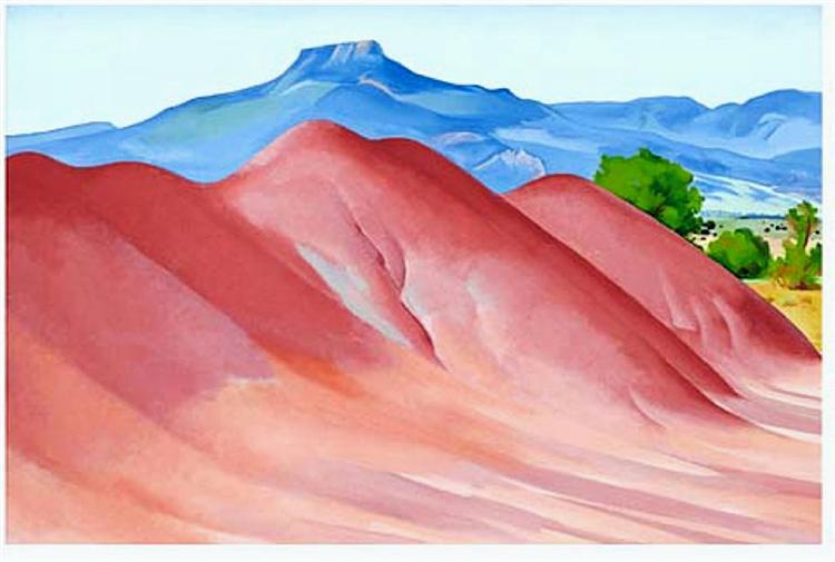Red Hills and Pedernal, 1936 - Georgia O'Keeffe