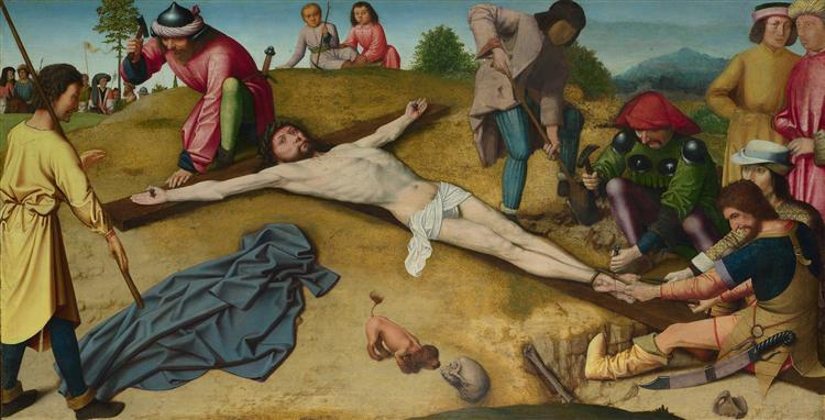 Christ Nailed to the C...