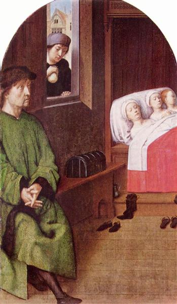 Two Legends of St. Nicholas, c.1500 - c.1510 - Gerard David