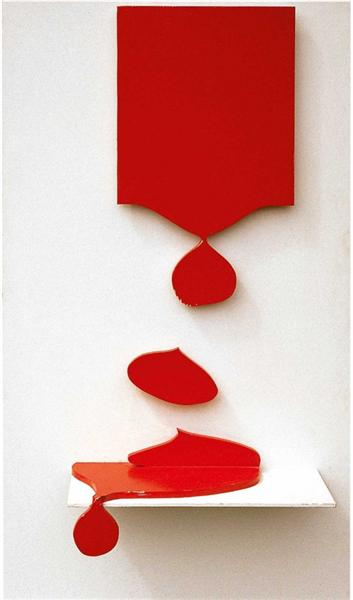 My Painting Drips, 1966 - Gérard Fromanger
