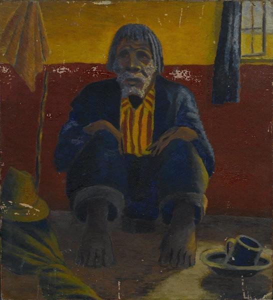 GUGA MZIMBA, 1942 - Gerard Sekoto