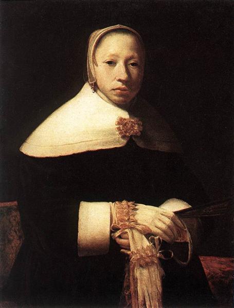 Portrait of a woman - Gerrit Dou