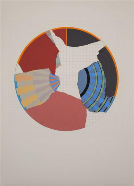 The Rule of the Circle,The Rule of the Game, 1985 - Geta Bratescu