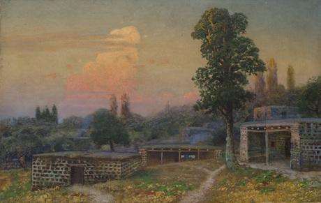 Armenian village at sunrise - Gevorg Bashindzhagian