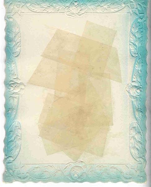 Transpercer la transparence (8), 1951 - Gherasim Luca