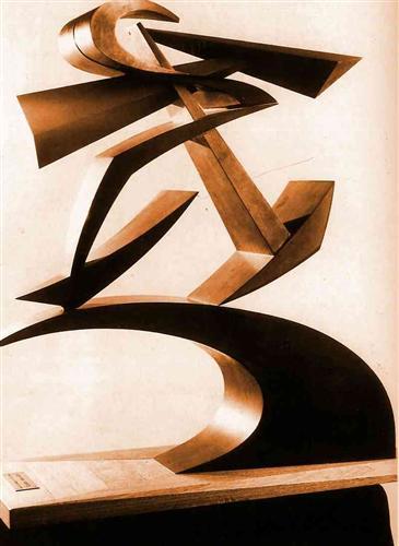 Dynamic of Boccioni's fist - Giacomo Balla