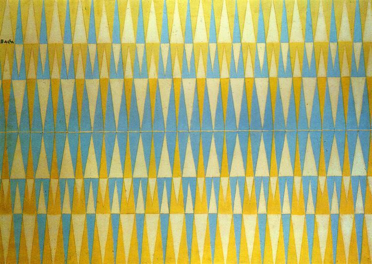 Iridescent Interpenetration No. 4 - Study of light, 1912 - Giacomo Balla