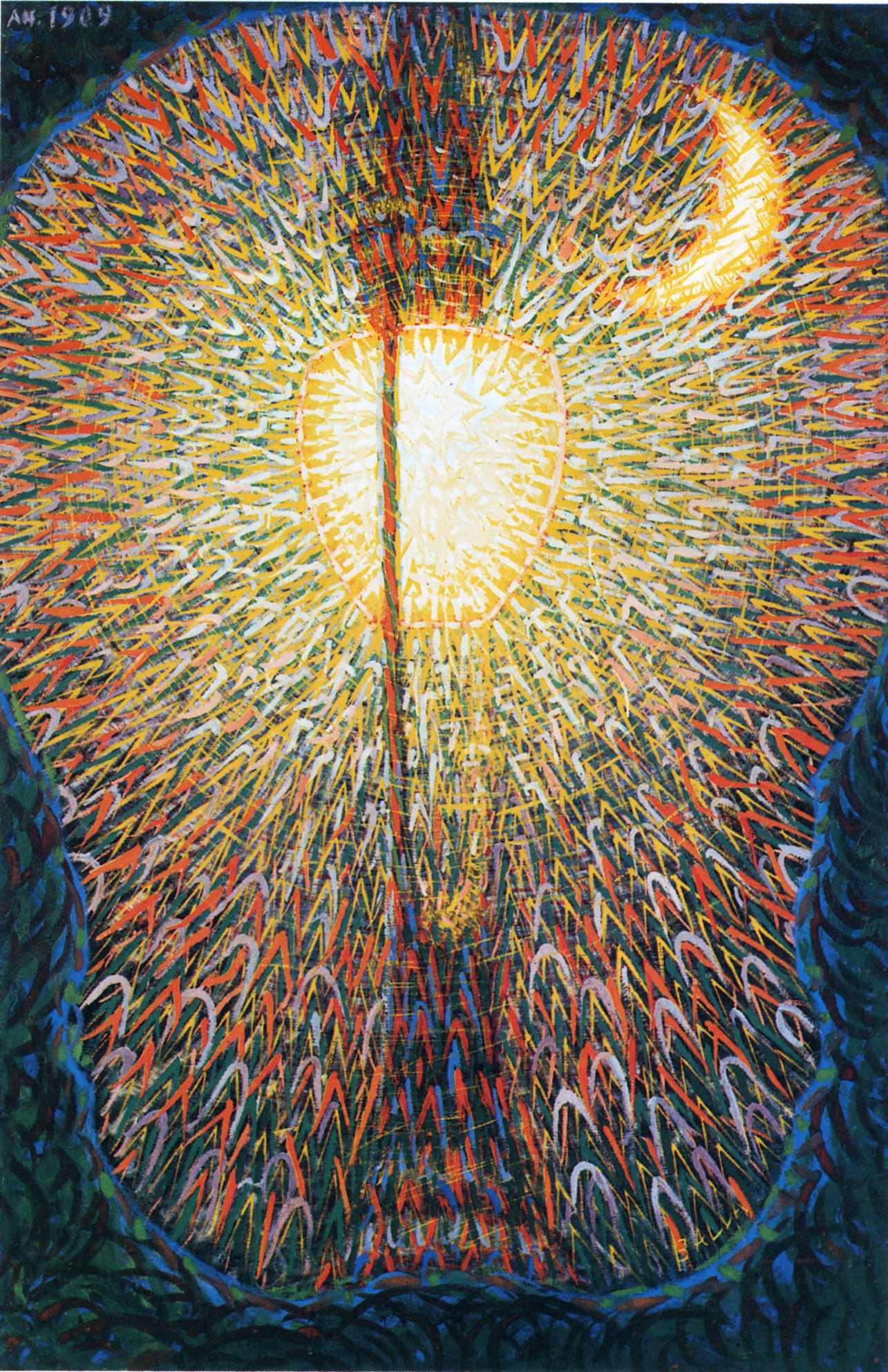 Art of the day giacomo balla street light - Ballas de obra ...