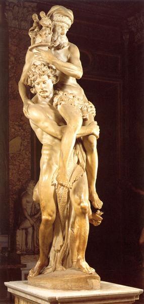 Aeneas and Anchises, 1618 - 1619 - Gian Lorenzo Bernini