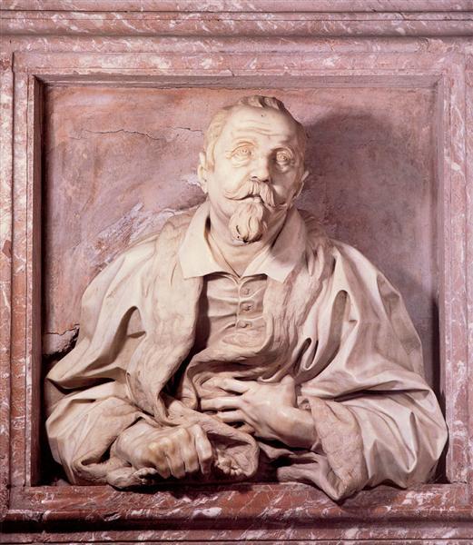 Memorial Bust of Gabriele Fonseca, c.1665 - Gian Lorenzo Bernini