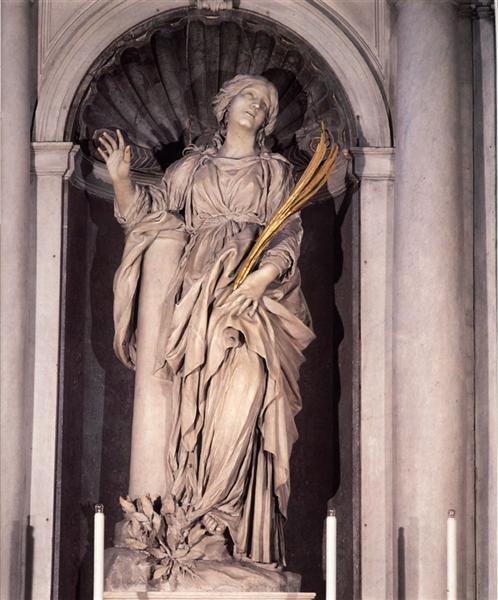 St. Bibiana, 1626 - Gian Lorenzo Bernini
