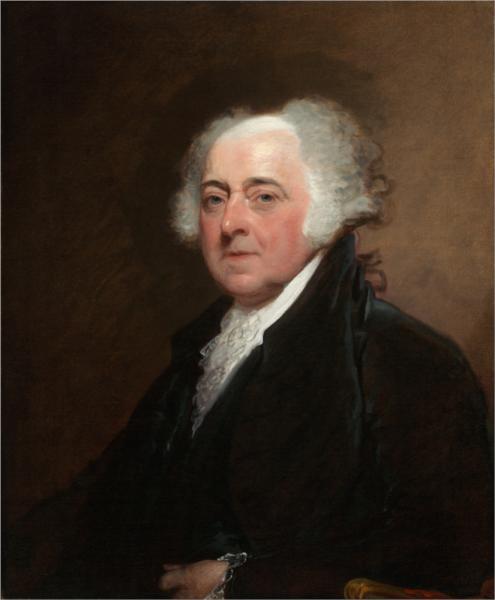 John Adams - Gilbert Stuart