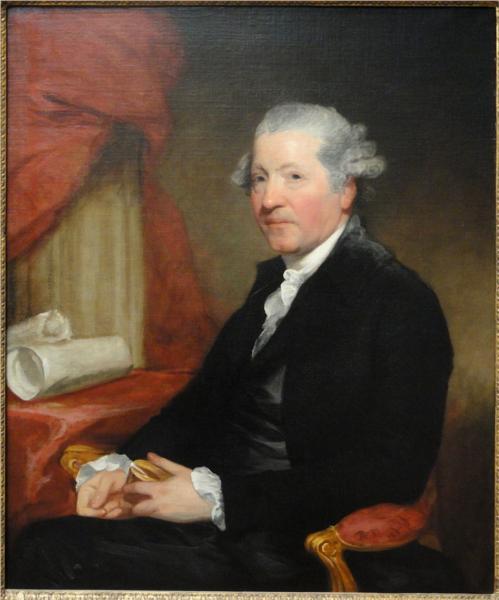 Sir Joshua Reynolds, 1784 - Gilbert Stuart