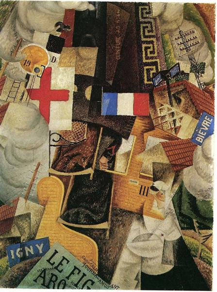 Train of the Wounded, 1913 - Gino Severini