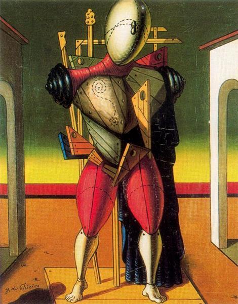 A troubadur, 1950 - Giorgio de Chirico