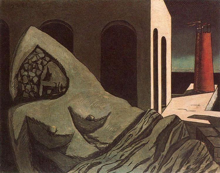 Ariana, the silent statue, 1913 - Giorgio de Chirico