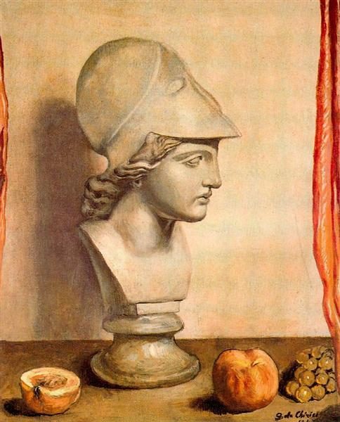 Bust of Minerva, 1947 - Giorgio de Chirico