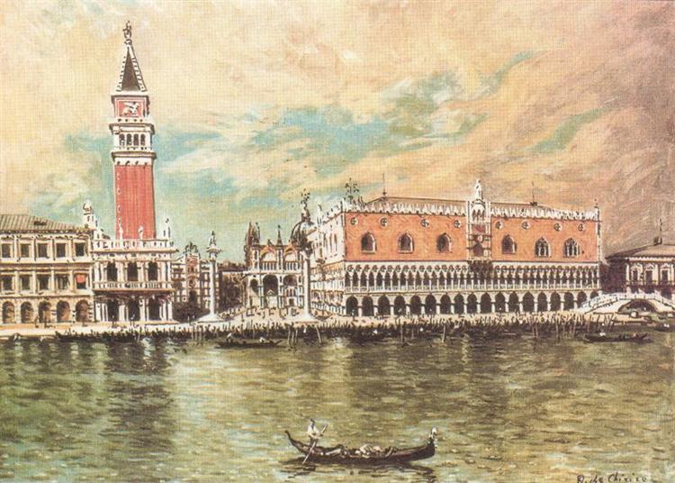 Plazzo Ducale (Venice), 1958 - Giorgio de Chirico