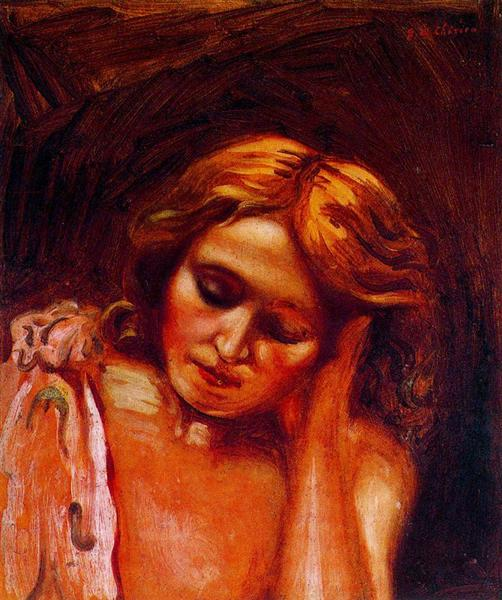 Portrait of Isa, 1933 - 基里訶