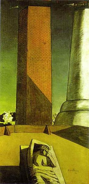The Awakening of Ariadne, 1913 - Giorgio de Chirico