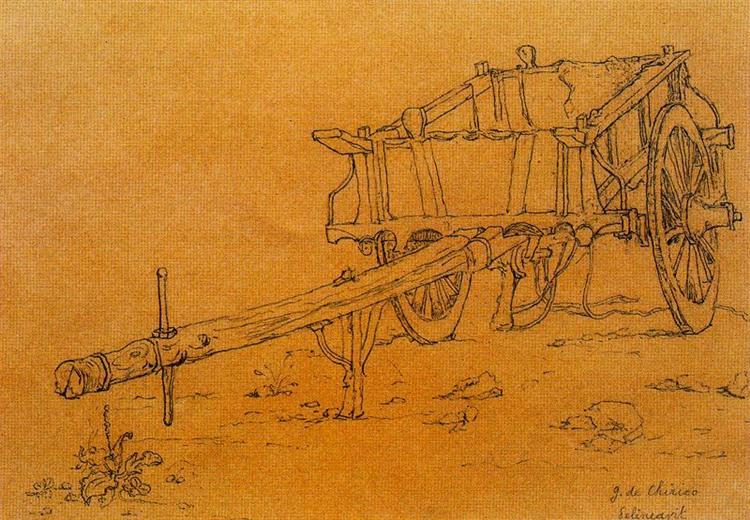 The chariot, 1940 - Giorgio de Chirico