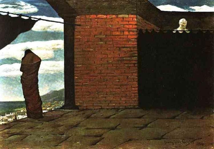 The Enigma of the Oracle, 1910 - Giorgio de Chirico