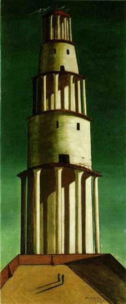 The Great Tower, 1913 - Giorgio de Chirico