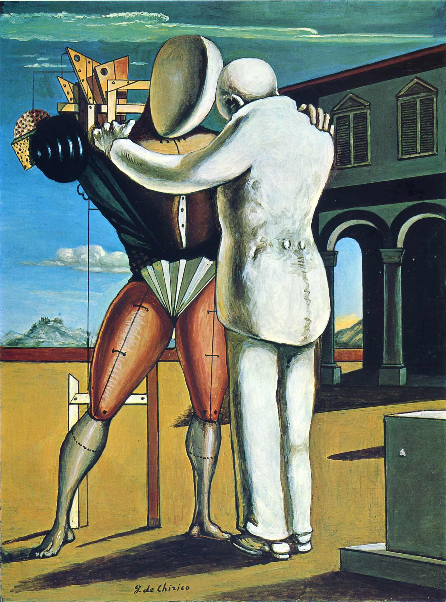 Giorgio de Chirico - Page 2 The-prodigal-son-1965