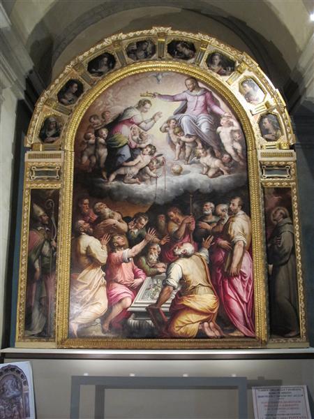 Assumption of the Virgin, 1567 - Giorgio Vasari