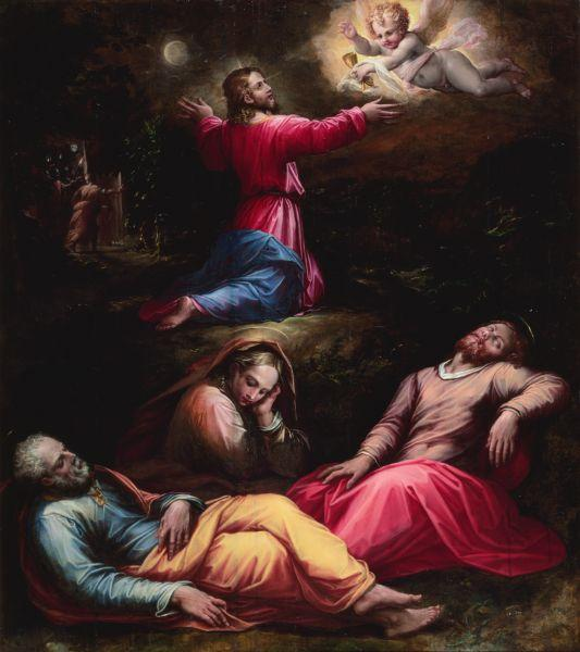 The Garden of Gethsemane, c.1570 - Giorgio Vasari