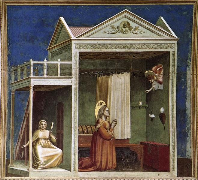 Annunciation to St Anne, c.1304 - c.1306 - Giotto
