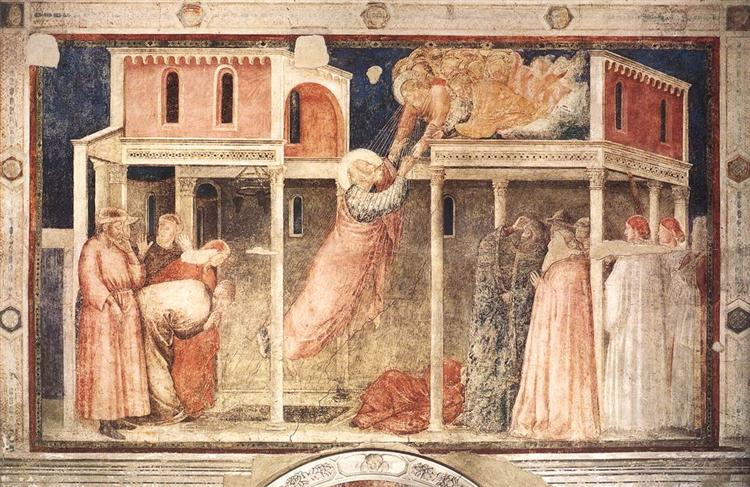 Ascension of the Evangelist, 1320 - Giotto